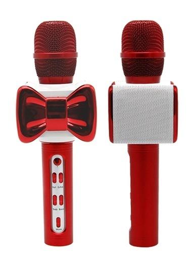 Doppler Mr.100 Ses Değişim Özellikli Çocuk Mikrofonu Kırmızı